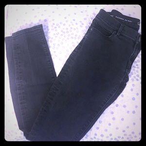 LOFT Modern Skinny Jeans Dark Gray